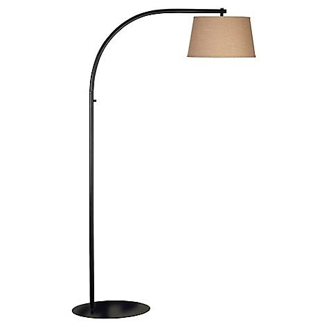 Kenroy home sweep arc floor lamp in bronze