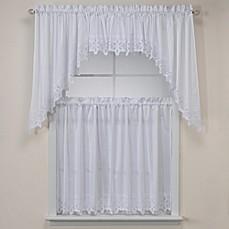 Image Of Kaitlyn Kitchen Window Curtain Tiers