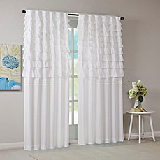 Intelligent Design Waterfall Ruched 63 Inch Window Curtain Panel