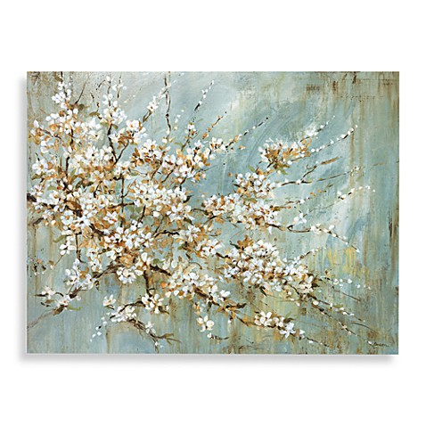 Cherry Blossom Canvas Wall Art blossom canvas wall art - bed bath & beyond