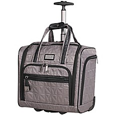 image of Nicole Miller NY Signature Quilt 16-Inch Wheeled Carry On