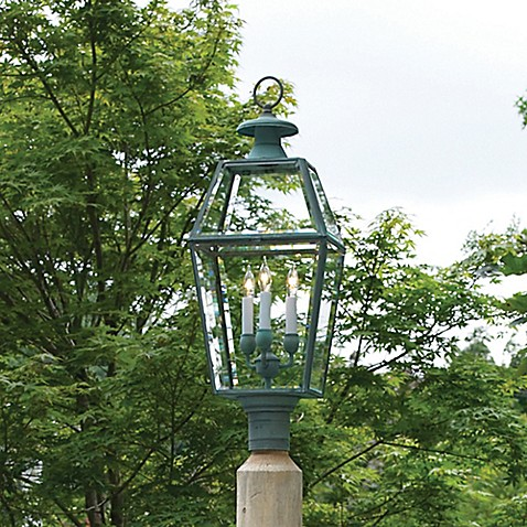 Lazy hill farm designs old colony lantern in verde brass for Old colonial designs