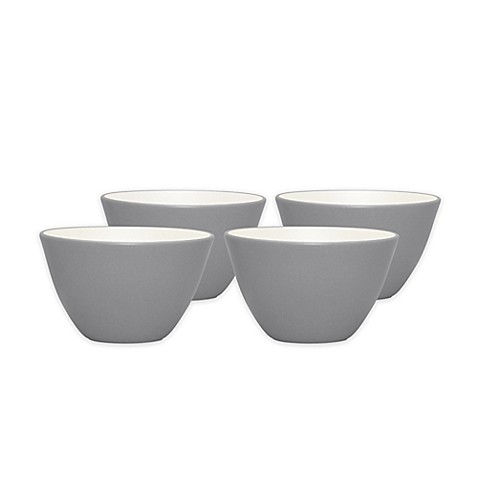Noritake® Colorwave Mini Bowls in Slate (Set of 4) - Bed Bath & Beyond