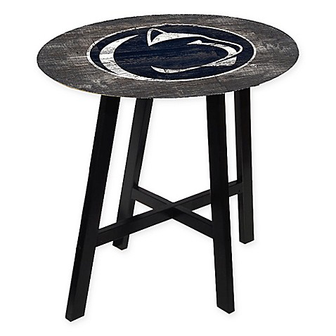 Penn State University Distressed Wood Pub Table Bed Bath Beyond - Distressed wood pub table
