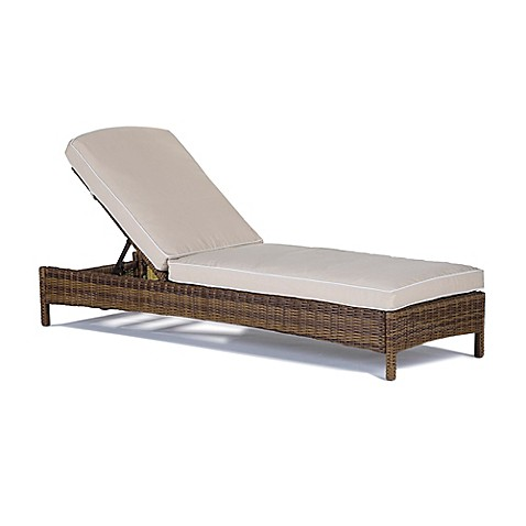 Modern marketing bradenton all weather resin wicker chaise for Chaise longue resine
