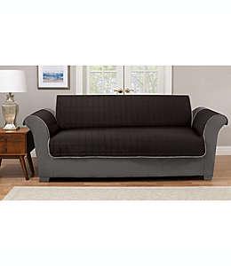 Funda reversible para sofá, Pawslife™ en negro/gris