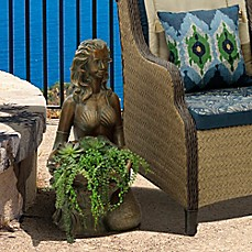 image of Bombay® Outdoor Miranda Planter in Gold
