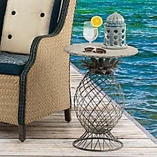image of Bombay® Outdoor Kailua Pineapple Table in Grey