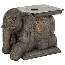 image of Bombay® Outdoor Elephant Umbrella Base and Table