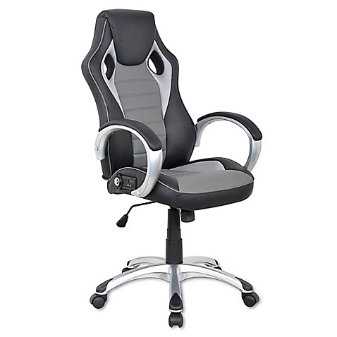 Buy X Rocker Sound Office Chair In Black Grey From Bed