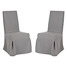 Safavieh Adrianna Slipcover Chair (Set Of 2)