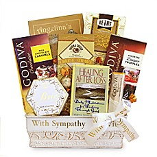 image of California Delicious Healing & Hope Sympathy Gift Basket