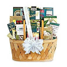 image of California Delicious Heartfelt Thoughts Of Sympathy Gift Basket