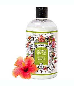 Poo-Pourri® Before-You-Go® Desodorante en aerosol para baño, 16 oz. (473.17 mL), aroma hibisco tropical