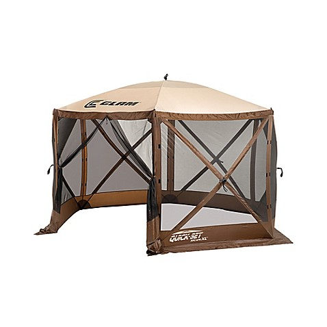 Clam Outdoors Quick-Set® Escape™ Extra Large Screen Shelter in Brown