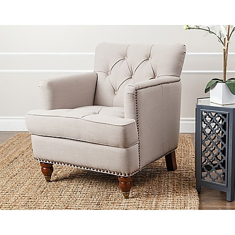 Merveilleux Abbyson Living Tafton Club Chair In Beige