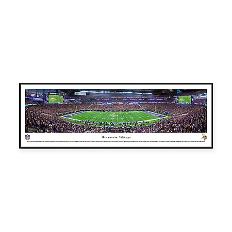 NFL Minnesota Vikings U.S. Bank Stadium Panoramic Print with ...