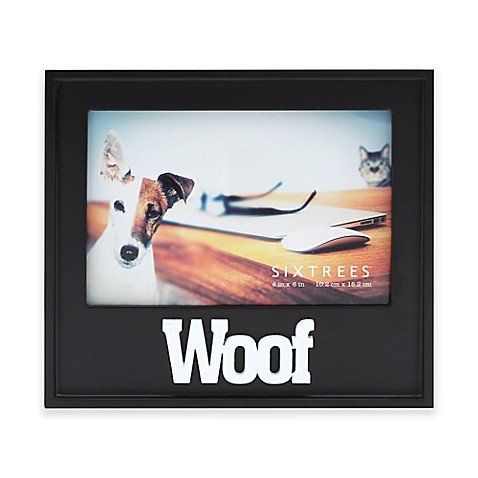 Six Trees Woof 4 Inch X 6 Inch Picture Frame Bed Bath Beyond