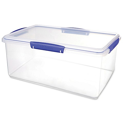 Sistema klip it 9 6 liter food storage container in for Decor 6l container