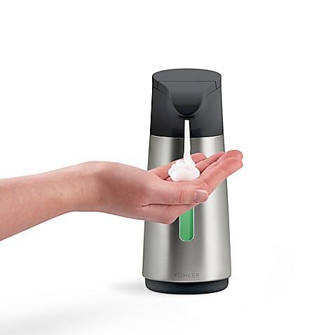 Kohler touchless foaming soap dispenser bed bath beyond - Kohler soap lotion dispenser ...