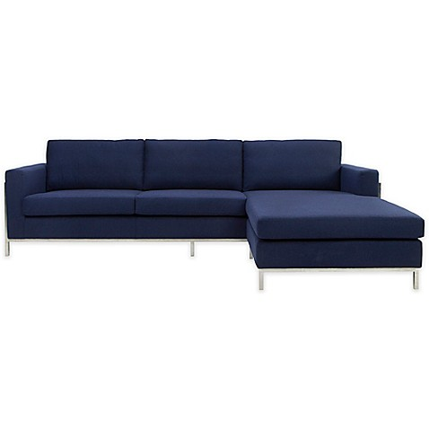 Safavieh Camila Wool Blend Sectional Sofa