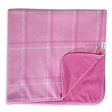 image of Hello Spud Plaid Picnic Blanket in Pink