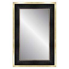 Image Of Elsa L 24 Inch X 36 Rectangular Mirror In Black