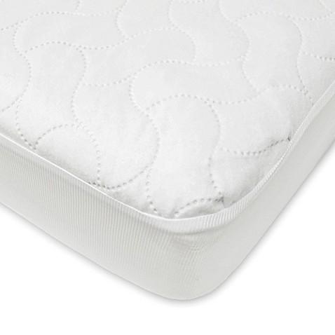 Image Of American Baby Company Waterproof Crib Mattress Pad Cover