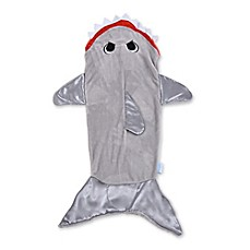 image of Snuggie® Tails™ Children's Shark Blanket in Grey