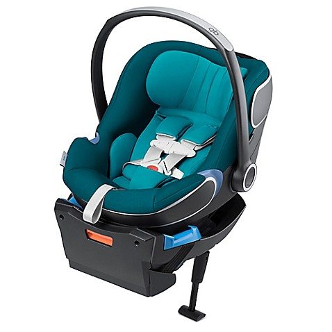 GB Idan Infant Car Seat with Load Leg Base in Capri Blue - buybuy BABY
