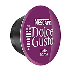 image of Nescafe® 16-Count Dolce Gusto® Dark Roast Coffee Capsules