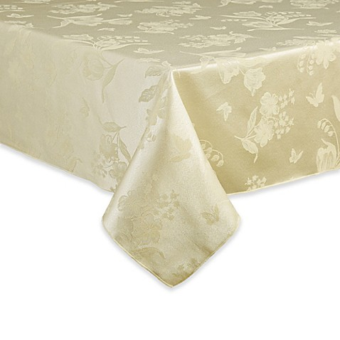Buy spring splendor 52 inch x 70 inch oblong tablecloth in for Table linens 52 x 70