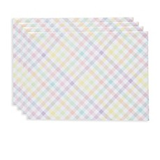 image of Spring Splendor Gingham Placemats (Set of 4)