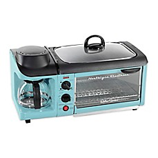 image of Nostalgia™ Electrics Retro Series™ 3-In-1 Breakfast Station™ in Blue