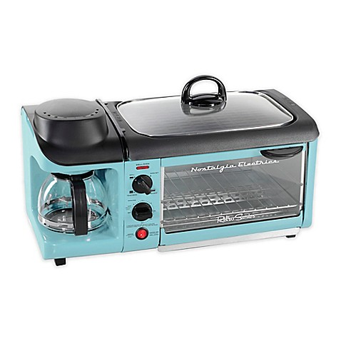 Nostalgia™ Electrics Retro Series™ 3-In-1 Breakfast Station™ in Blue ...