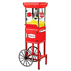 image of Nostalgia™ Electrics Coca-Cola® 48-Inch 2.5 oz. Kettle Popcorn Cart