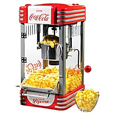 image of Nostalgia™ Electrics Coca-Cola® 2.5 oz. Kettle Popcorn Popper in Red