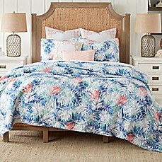 image of Coastal Living® Coastal Palm Reversible Mini Quilt Set