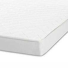 image of Safavieh Clarity 6-Inch Spring Mattress in White