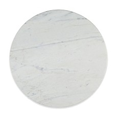 image of Artisanal Kitchen Supply® Straight Edge Marble Lazy Susan