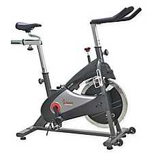 image of Sunny Health & Fitness Chain Drive Indoor Cycling Bike in Grey