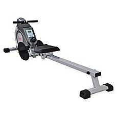 image of Sunny Health & Fitness SF-RW5515 Magnetic Rowing Machine in Grey
