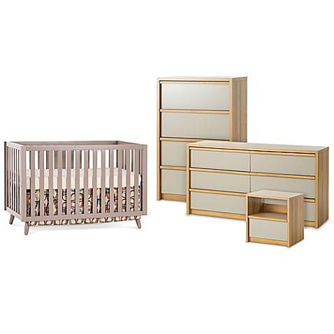 Child Craft™ Loft Crib Furniture Collection in Grey