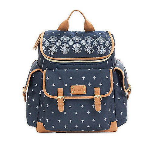 carter 39 s baby go bandana backpack diaper bag in blue. Black Bedroom Furniture Sets. Home Design Ideas
