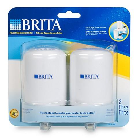 brita 2 pack faucet filter bed bath beyond. Black Bedroom Furniture Sets. Home Design Ideas