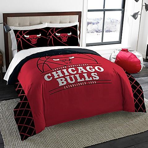 Nba Chicago Bulls Comforter Set Bed Bath Amp Beyond