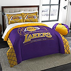 image of NBA Los Angeles Lakers Twin Comforter Set