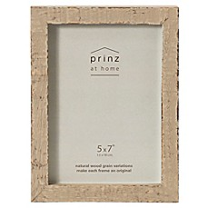image of prinz 5 inch x 7 inch distressed pallet wood frame in buff