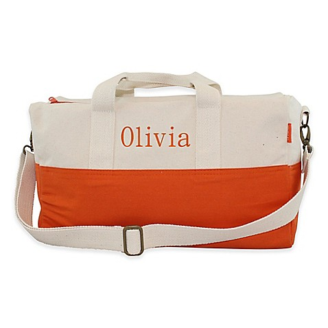 Buy CB Station 16.5-Inch Color Block Duffle Bag in Orange from Bed Bath & Beyond