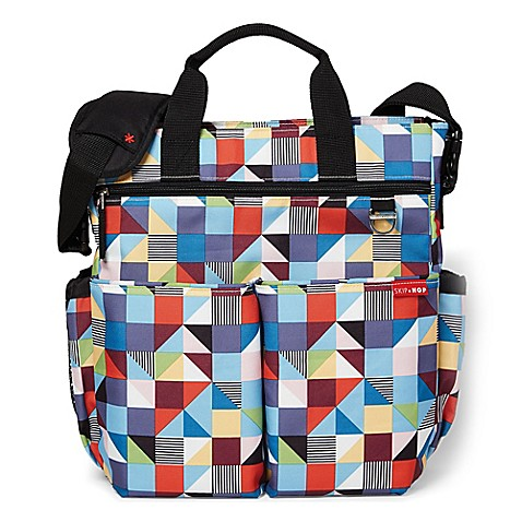 Skip Hop Duo Signature Diaper Bag in Prism Print - Bed Bath & Beyond